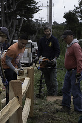 Asilomar Split Rail Fence Project 5-24-18-6 (CSPF Park Champions program) Tags: 52418 parkchampions asilomar