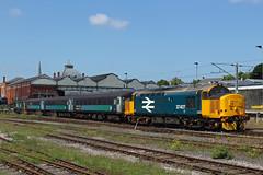 37407 (DennisDartSLF) Tags: norwich train 37407 class37 britishrail drs directrailservices shortset
