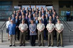FORO EJÉRCITO-EMPRESAS FUERZAS TERRESTRES 2018. Foto: Ricardo Pérez/MDE (Ministerio de Defensa) Tags: seleccionar