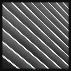 Meriadeck Water Drops II (Ilan Shacham) Tags: abstract architecture graphic shape form drops cross diagonal repetition texture square bw blackandwhite minimalism fineart fineartphotography meriadeck bordeaux france