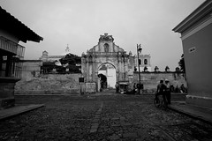 Antigua (danielhendrikx) Tags: antigua guatemala centro america photography photo photos fuji fujifilm xt2 travel trip vacation holiday backpacking outdoor landscape town village bw cathedral architecture building