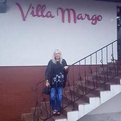 Mom at the Villa Margo (Kevin Borland) Tags: poland białystok villamargo hotel