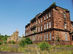 Sir John Maxwell School 2 (goatsgreetings) Tags: glasgow scotland pollokshaws abandoned derelict school building architecture arquitectura european sandstone historic