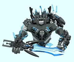 Chief Fabord (1) (Folisk) Tags: lego moc ldd digitaldesigner ccbs pov flame