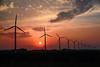 Sunset in Noord Holland (Julysha) Tags: sunset windmills sun sky skyline spring may evening thenetherlands noordholland dutch acr d810 2018 sigma241054art silhouette