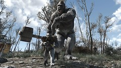 Fallout4 - King Kontant + Goritant Cruiser (tend2it) Tags: fallout4 fallout 4 rpg game pc ps4 xbox screenshot screenarchery reshade postprocessing injector nuclear apocalyptic future eraser enb sweetfx goritant attack king kontant giant barrel hammer bomb ms abominations mod