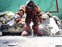 JUGGERNAUT! (THE AMAZING KIKEMAN) Tags: xmen colossus juggernaut deadpool cable 2 2018 movie action figures toy biz diamond select toys nathan summers wade wilson cain marko ryan reynolds josh brolin marvel comics piotr rasputin
