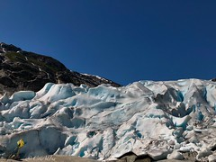 Nigardsbreen (ineowsianny63) Tags: jostedalsbreen view nature meltingglacier norway noorwegen mountain snow ice gletsjer glacier nigardsbreen iphone8plus