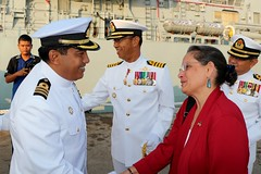 Ambassador Kamala Lakhdhir visit Lumut (United States Embassy Kuala Lumpur) Tags: ambassador kamala lakhdhir visit lumut perak usembassy kualalumpur