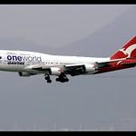 B747-438/ER   Qantas   oneworld   VH-OEF   HKG thumbnail