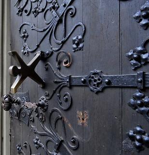 Dusseldorf Church Door