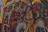 Hildesheim, Niedersachsen, Lambertikirche, altar, detail (groenling) Tags: hildesheim niedersachsen deutschland germany hi de lambertikirche stlamberti altar paint painting gemälde passion jesus crucifixion kreuzigung cross kreuz saint heilige horse pferde