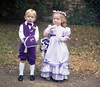 Page boy and Bridesmaid (vintage ladies) Tags: wedding 80s 80swedding pike kettering 3181985