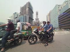 Busy Life (ainulislam) Tags: dhaka dhakagram wideangle xiaomi yi street colour outdoor vehicle bike motorbike people city cityscape urbanscape life daily busy run pov perspective centerofperspective xiaoyi ydxj 1