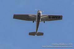 G-BPEO Cessna 152 (Ashley Middleton Photography) Tags: aviation cotswolds aircraft england unitedkingdom c152 cessna gbpeo europe cotswoldwildlifepark burford oxfordshire gb