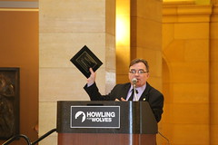 Senator Hoffman at Howling for Wolves Rally