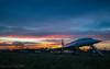 Rainbow sunset Concorde (toum') Tags: parayvieilleposte îledefrance france fr concorde avion plane lightroom sky ciel nuage cloud airport aéroport orly adp parisaéroport iphoneography iphone smartphone sunlight sunset dusk coucherdesoleil crépuscule