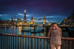 When I was a Londoner (aurlien.leroch) Tags: london londres uk england towerbridge shard citsycape nikon longexposure autoportrait night