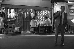 SIDE ORDER (ajpscs) Tags: ajpscs japan nippon 日本 japanese 東京 tokyo city people ニコン nikon d750 tokyostreetphotography streetphotography street seasonchange spring haru はる 春 2018 shitamachi night nightshot tokyonight nightphotography citylights tokyoinsomnia nightview monochromatic grayscale monokuro blackwhite blkwht bw blancoynegro urbannight blackandwhite monochrome alley othersideoftokyo strangers walksoflife omise 店 urban attheendoftheday urbanalley bar ordering selection つまみ sideorder