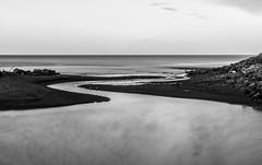 River Mouth, New Plymouth (russellstreet) Tags: taranakiregion taranaki bw newzealand river newplymouth blackandwhite