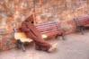 (201/18) Sin problemas (Pablo Arias) Tags: pabloarias photoshop photomatix capturenxd gente personas banco siesta marrakech marruecos