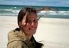 smile like you mean it (H.Baum) Tags: beach smile portrait sand lächeln meer sea ostsee porträt woman windy