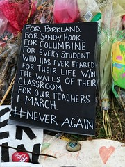 Photo Mar 26, 2 43 26 PM (skitpero) Tags: parkland marjorystonemandouglas florida fl school memorial victims survivors survivor victim flowers signs protest msdhs msdstrong 17 highschool guncontrol neveragain stonemanstrong march soflo remember