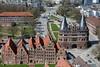 Lübeck von oben! (♥ ♥ ♥ flickrsprotte♥ ♥ ♥) Tags: lübeck stpetri kirche holstentor