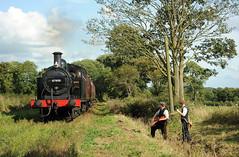 EVR 73576 (kgvuk) Tags: evr ecclesbournevalleyrailway railway train locomotive steam engine tankengine jinty 060t steamengine steamlocomotive steamtrain 47406 reenactors trackgang platelayer