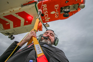 Helicopter SAR Selfie