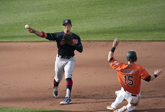 Francisco Lindor (Keith Allison) Tags: mlb baseball orioleparkatcamdenyards franciscolindor clevelandindians