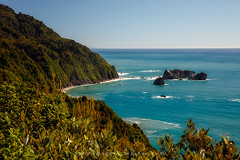 8084 Knights Point Lookout (kylebarendrick) Tags: haasthighway knightspoint newzealand ocean tasmansea