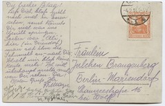 . (Kaïopai°) Tags: germaniabriefmarke stamp briefmarke handschrift brangenberg berlin streit postkarte brief
