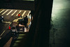 Working hard (Iamjustafish) Tags: 城市 台灣 台北 數位相機 旁軸 福倫達 夜晚 夜拍 人 人像 街道 街拍 徠卡 35mm classic nokton voigtlander rangefinder taipei taiwan digital work nightlife urbanlife urban city night street manuallens manual m240 leica