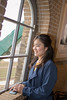 Young woman looking over through window (Apricot Cafe) Tags: img84009 asia asianandindianethnicities healthylifestyle japan japaneseethnicity tamronsp35mmf18divcusdmodelf012 candid carefree casualclothing charming cheerful chibaprefecture colorimage enjoyment happiness indoors leisureactivity lifestyles lookingaway oneperson onlyjapanese people photography realpeople sideview smartphone smiling springtime sustainablelifestyle toothysmile tourim tourism tourist traveldestinations waistup wall weekendactivities windmill window women youngadult sakurashi chibaken jp