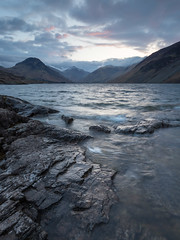 Wasdale dawn (Ade G) Tags: hdr landscape seasons lakes mountains sunrise winter