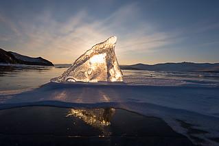 The shark Fin - Baikal Lake