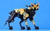 Hyena Pack 03 (Gamma-Raay) Tags: lego bionicle build toy moc hyena dog wolf art gold black
