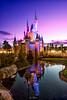 Tokyo Disneyland 2017 71 - Castle Times Two (JUNEAU BISCUITS) Tags: cinderellascastle cinderella sunset bluehour disney disneyresort disneyparks themepark waterreflection waltdisney japan tokyodisneyland nikond810 nikon