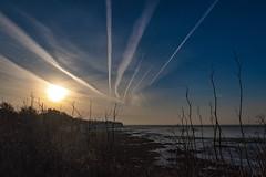 Morning Trails (@bill_11) Tags: pegwellbay unitedkingdom isleofthanet england kent cliffsend gb