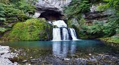 Source du Lison (Martin M. Miles (gone for a walk)) Tags: cascade jura 39 bourgognefranchecomté france waterfall lison sourcedulison karstspring