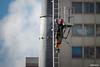 Subiendo a la torre del último segmento.. (Max Glaser) Tags: cablecar teleferico dron bolivia lapaz southamerica gondola ropeway urbantransport transportation