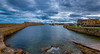 Lossie Harbour (Tom McPherson) Tags: tommcphersonraw harbour lossiemouth mouth sea waves blue nikon d750 1635mm wide angle lens moray