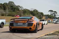 R8 Gt (Andre.Siloto) Tags: audi r8 gt v10 orange laranja ctbaexotics 2017 nikon d3200 d 3200 sky céu curitiba ctba cwb paraná pr brasil brazil bra br exotic car