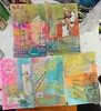 Journaling by 5s step #3 (Snooky & Angie) Tags: paper paint ink mixedmedia journaling journalingby5s