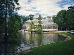 image (Luis Iturmendi) Tags: palacio de cristal retiro landscape paisaje composition composición lake lago airelibre