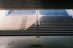 stairs (rafasmm) Tags: łódź lodz polska poland europe nikonf90x nikon nikkor50f18d nikkor 50 18 afd analog negativ film fujifilm superia xtra 400 asa citycenter city streets street stairs underground outdoor streetphotography streetscene