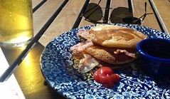 Wetherspoons Breakfast Pancakes and Bacon (Tony Worrall) Tags: add tag ©2018tonyworrall images photos photograff things uk england food foodie grub eat eaten taste tasty cook cooked iatethis foodporn foodpictures picturesoffood dish dishes menu plate plated made ingrediants nice flavour foodophile x yummy make tasted meal nutritional freshtaste foodstuff cuisine nourishment nutriments provisions ration refreshment store sustenance fare foodstuffs meals snacks bites chow cookery diet eatable fodder wetherspoons breakfast pancakes bacon booze ale pint drink