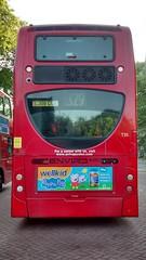"Arriva London TFL Route 329 - T35 - ""PEPPA PIG"" (Local Bus Driver) Tags: bus red double decker db dennis alexander enviro 400 arriva tfl route 329 t35 peppapig wellkid vitabiotics london"