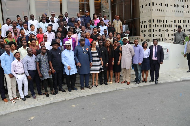 HSDickson- Inaugurates Bayelsa Youth Entrepreneur Network 12th June 2018